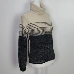 Athleta Merino Wool Turtle Neck Sweater, Sz XS